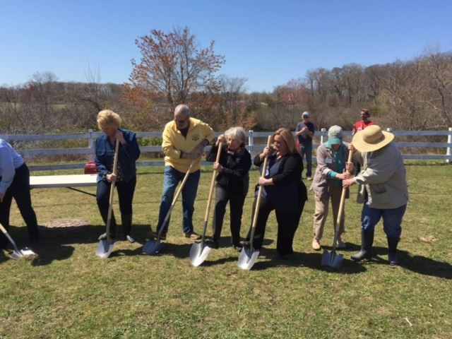 Allaire Community Farms- Community Garden Groundbreaking