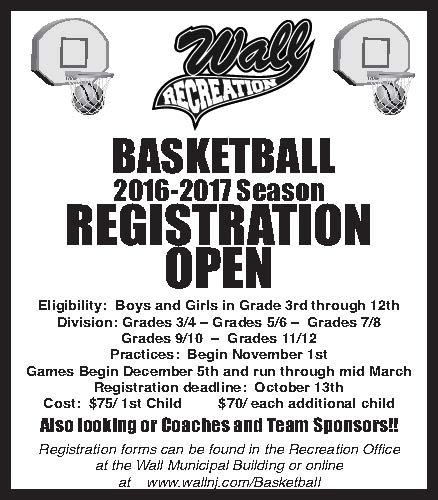 Rec Basketball Coast Star Ad