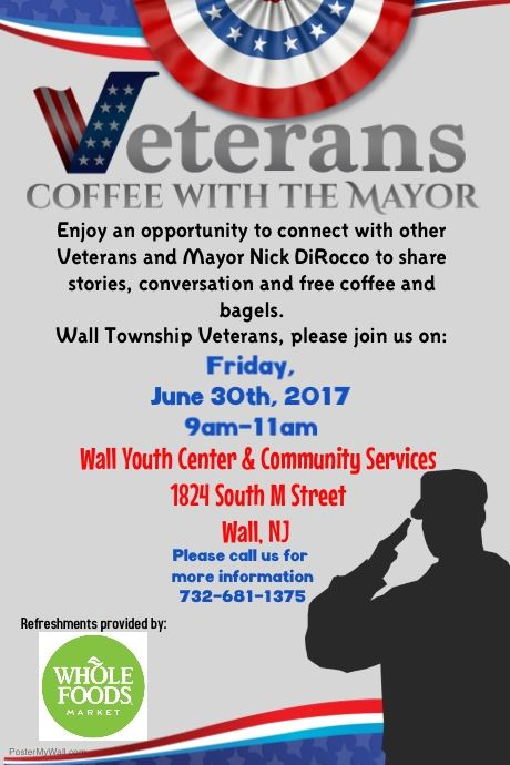 Veterans Coffee with Mayor- FINAL