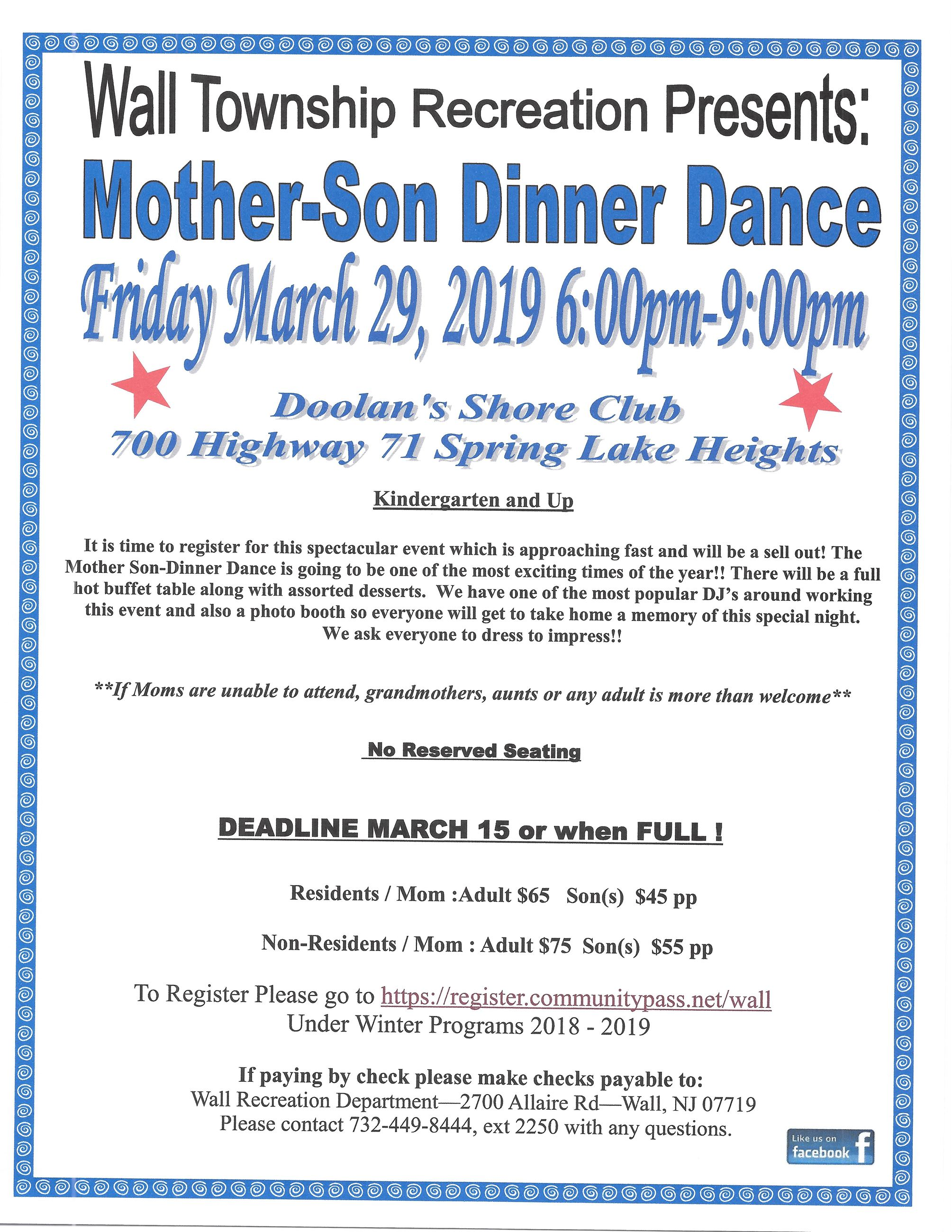 Mother- Son Dance 2019