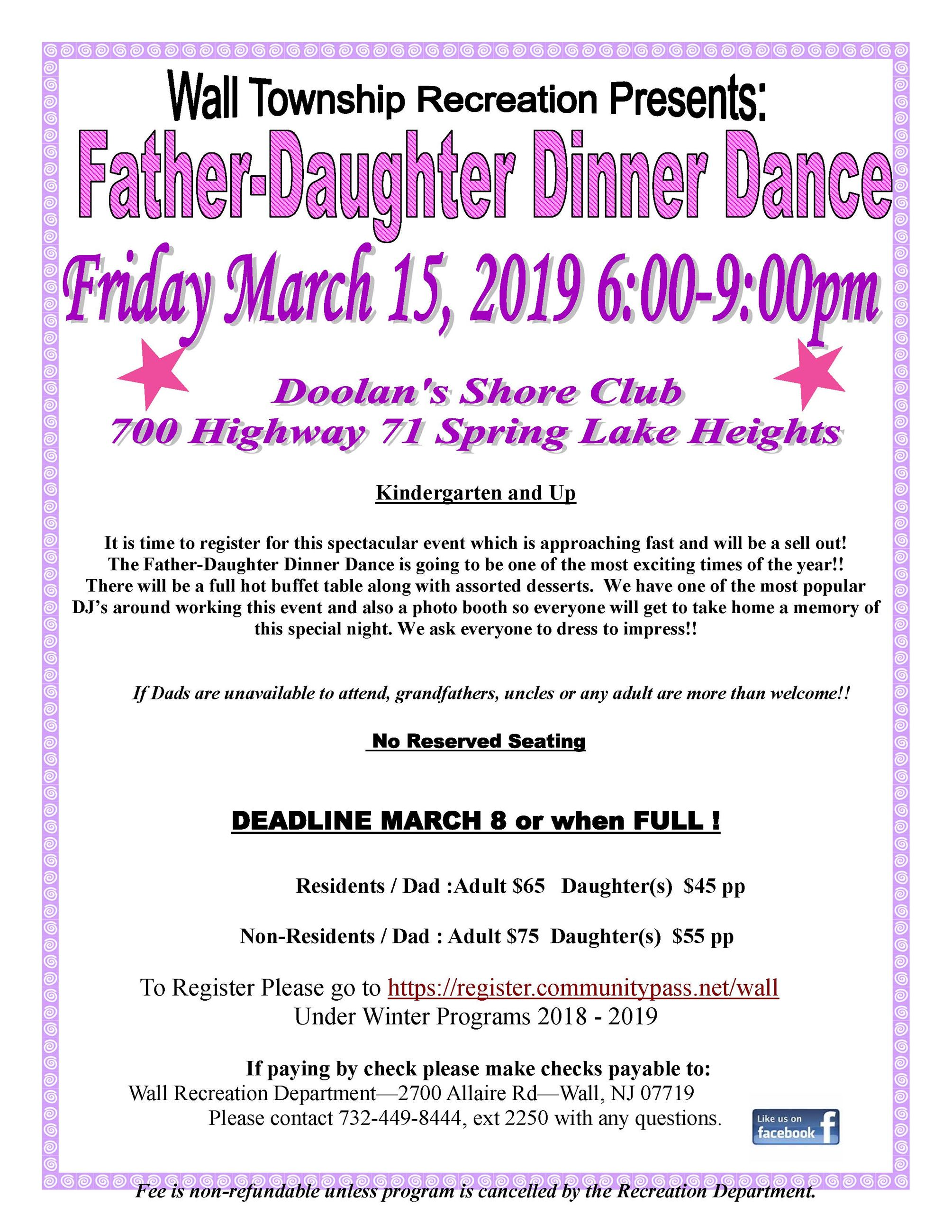 Father- Daughter Dance 2019