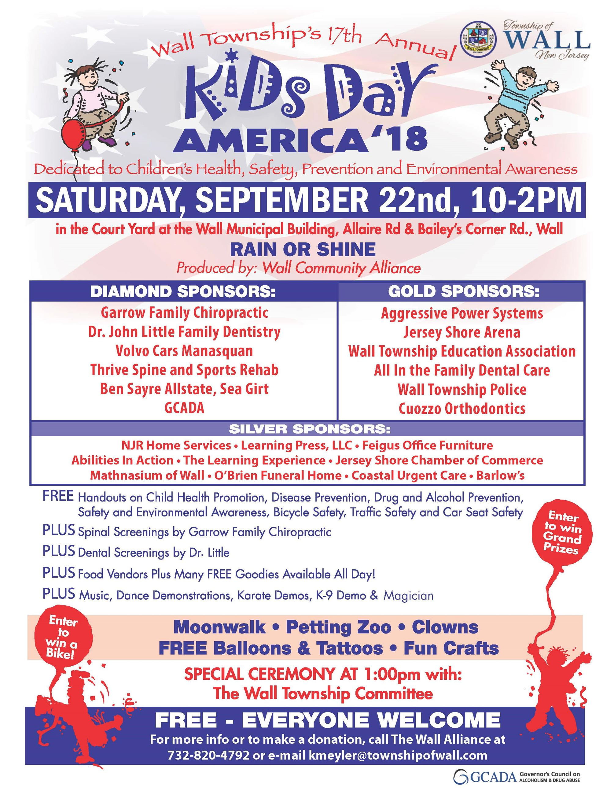 Wall Alliance 2018 Kids Day America - full page