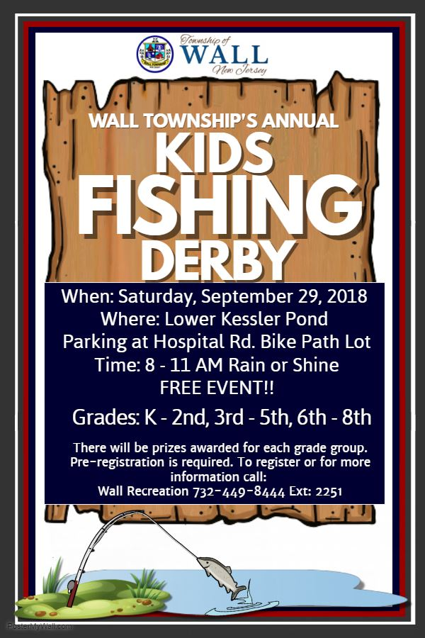 Kids Fishing Derby 2018