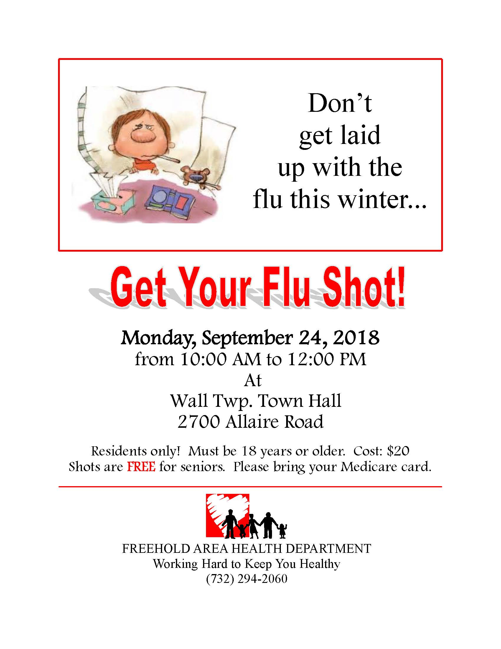 Flu Clinic Flyer 2018 Corrected
