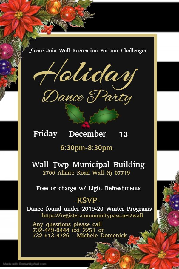 Challenger Holiday Dance 2019