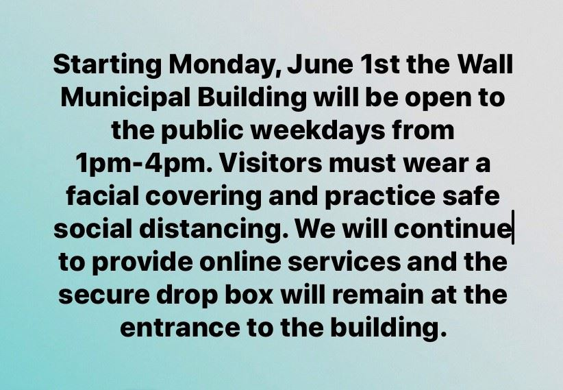 COVID Update Building Reopen to Public 6.1.20 2