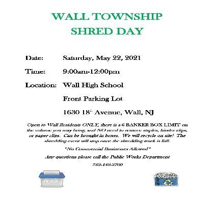 Shred Day Flyer May 2021